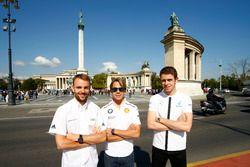Jamie Green, Audi Sport Team Rosberg, Audi RS 5 DTM; Augusto Farfus, BMW Team MTEK, BMW M4 DTM; Paul