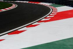 Eingang der Boxengasse auf dem Hungaroring
