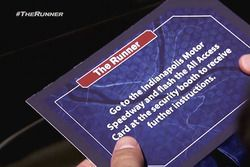 El programa de reality show The Runner visita Indianapolis Motor Speedway