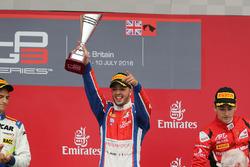 Podium: winnaar Antonio Fuoco, Status Grand Prix