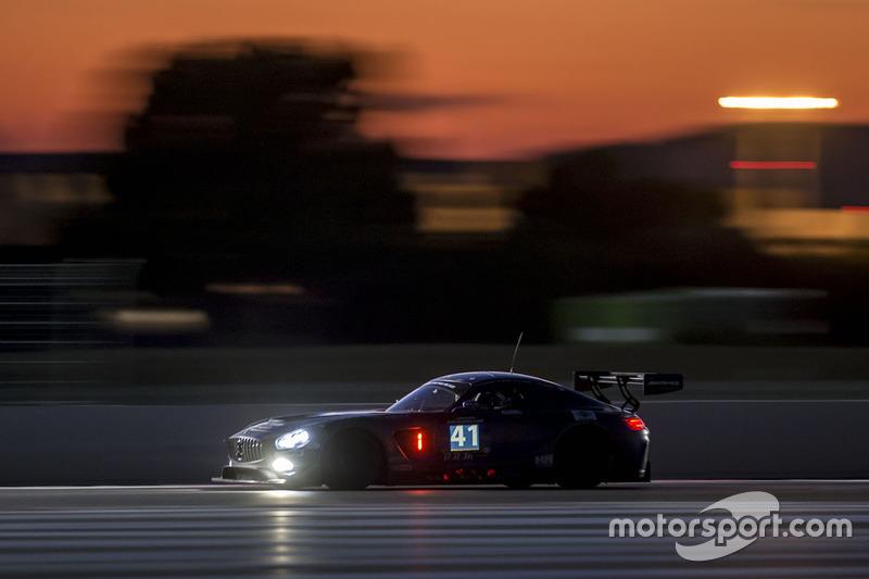 #41 HTP Motorsport GmbH, Mercedes AMG GT3: Wim de Pundert, Bernd Schneider, Brice Bosi, Clemens Schm