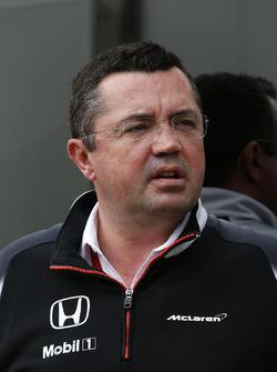 Eric Boullier, directeur de la compétiton McLaren