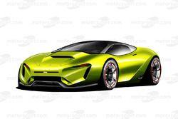 Дизайн воображаемой машины NASCAR будущего
