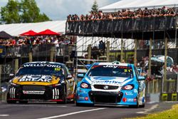 Tim Blanchard, Brad Jones Racing, Holden; Chris Pither, Super Black Racing, Ford