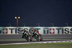 Jonathan Rea, Kawasaki Racing y Tom Sykes, Kawasaki Racing