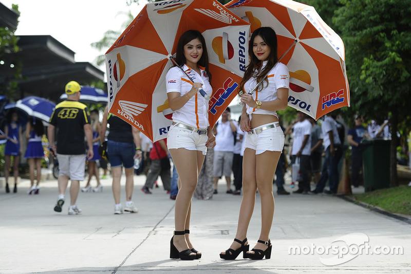 Grid girls Repsol Honda Team