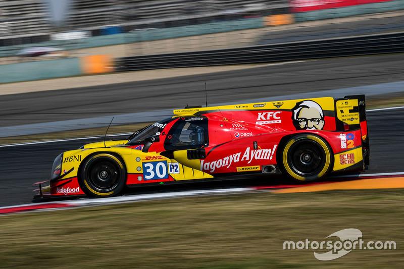 3. LMP2: #30 Extreme Speed Motorsports, Ligier JS P2 Nissan