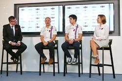 David Croft, Sky Sports Commentator, Valtteri Bottas, Lance Stroll, Claire Williams, Williams Deputy