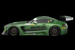 La Mercedes-AMG di Renger Van der Zande, Mercedes-AMG Driving Academy, per Macau