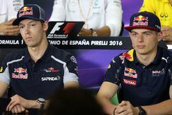 Daniil Kvyat, Scuderia Toro Rosso ve Max Verstappen, Red Bull Racing