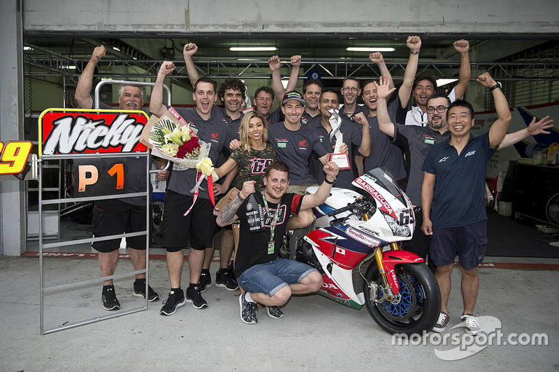 2016: First World Superbike win with Honda