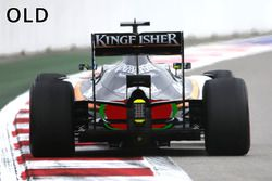 Sahara Force India F1 VJM09, il posteriore