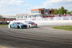 Екатерина Седых, Nissan Silvia S15 и Алексей Бобровских, Nissan Silvia S15