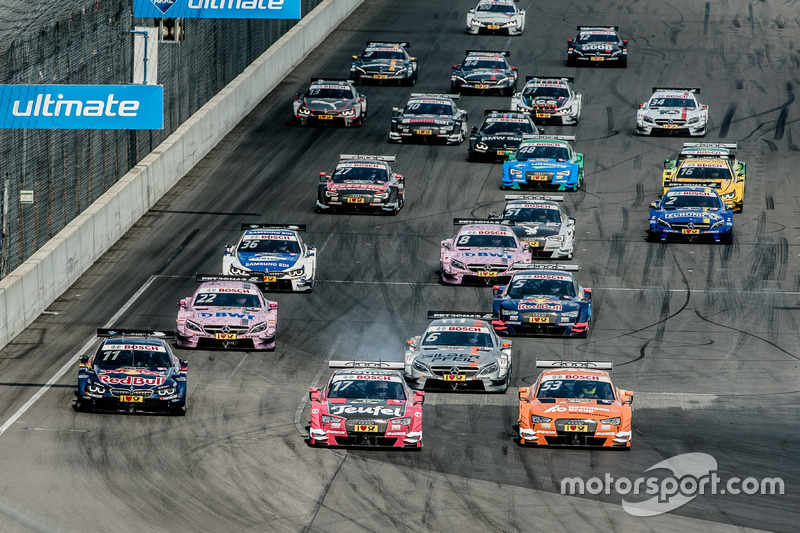Start, Miguel Molina, Audi Sport Team Abt Sportsline, Audi RS 5 DTM, Jamie Green, Audi Sport Team Ro