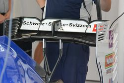 Sauber C35 rear wing detail