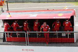 Kommandostand: Ferrari