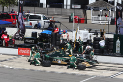 Ed Carpenter, Ed Carpenter Racing Chevrolet, pit action