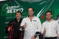 Izq. a der. Luis Díaz, Greaves Motorsport, Ricardo González, RGR Sport by Morand, Jorge y Alfonso Toledano, Manor Racing