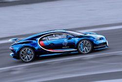 Frankreich: Bugatti Chiron