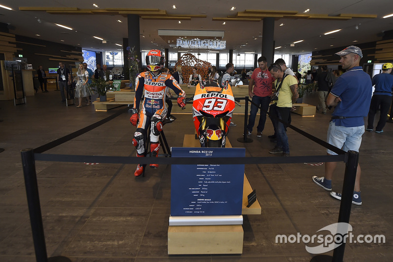 Marc Marquez, Repsol Honda Team, mock up, Welcome center, Red Bull Ring