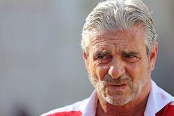 Maurizio Arrivabene, Team Principal, Scuderia Ferrari