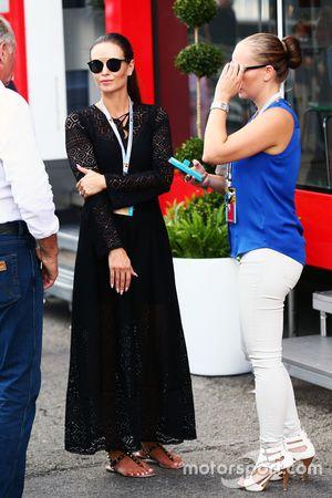 Minttu Raikkonen, esposa de Kimi Raikkonen, Ferrari