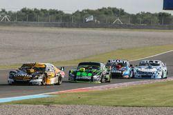 Leonel Pernia, Las Toscas Racing Chevrolet, Mauro Giallombardo, Stopcar Maquin Parts Racing Ford, Es
