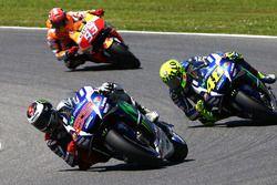 Хорхе Лоренсо, Yamaha Factory Racing, Валентино Росси, Yamaha Factory Racing и Марк Маркес, Repsol H