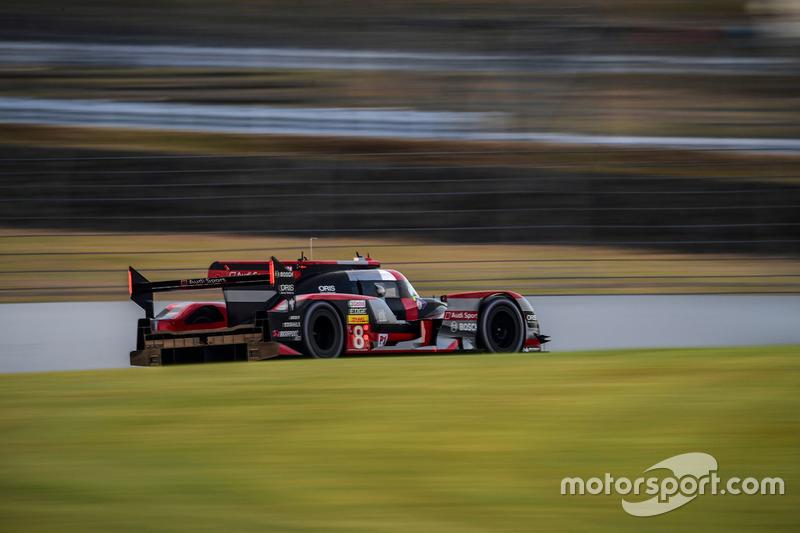2. LMP1: #8 Audi R18 e-tron quattro: Lucas di Grassi, Loic Duval, Oliver Jarvis