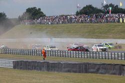 2. yarış kaza