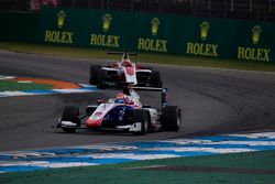Antonio Fuoco, Trident devant Charles Leclerc, ART Grand Prix