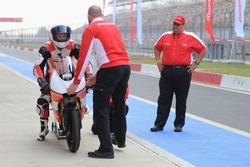 Danny Webb, Mahindra MGP30 and Mufaddal Choonia, Mahindra Racing SPA CEO