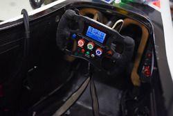 Mahindra Racing cockpit