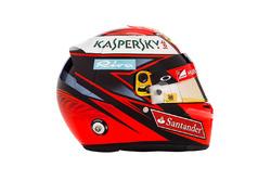 Шлем Кими Райкконена, Ferrari