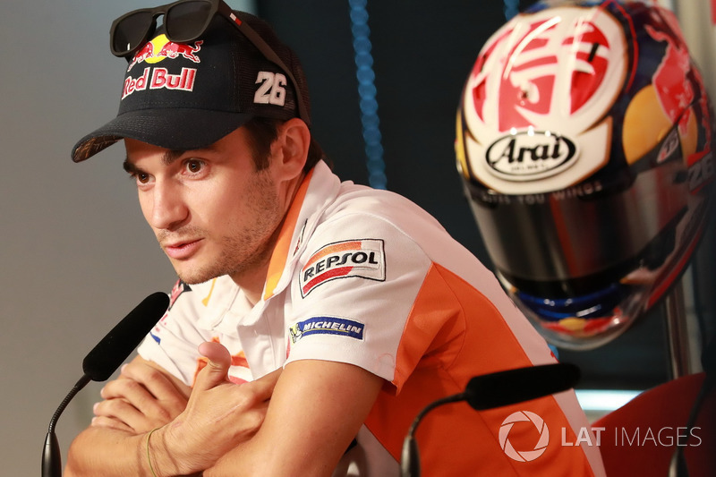 Press Conference, Dani Pedrosa, Repsol Honda Team