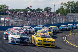Renn-Action der NASCAR-Euroserie in Tours