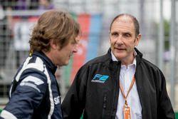 Bruno Michel en Marco Codello op de grid
