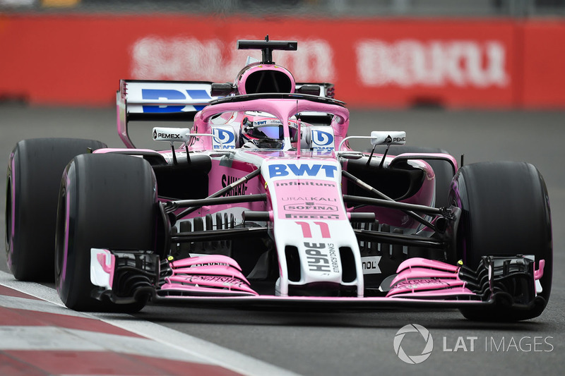 Sergio Pérez, Force India VJM11
