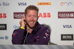 Sam Bird, DS Virgin Racing, en conférence de presse