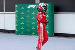 Kimi Raikkonen, Ferrari en parc ferme