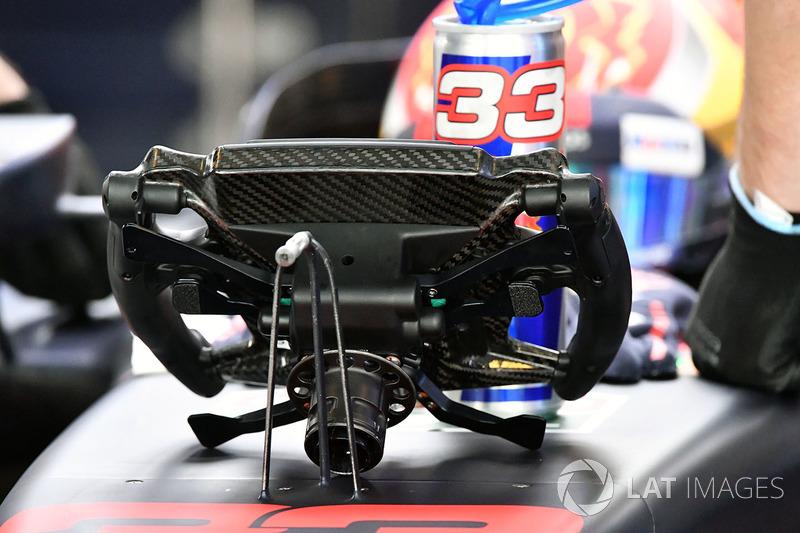 Max Verstappen, Red Bull Racing RB13 volante
