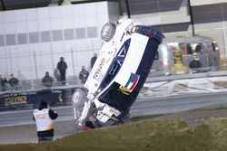L'accident d'Oliver Solberg, Ford Fiesta WRC