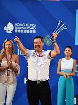 Podyum: Alex Tai, Takım patronu, DS Virgin Racing