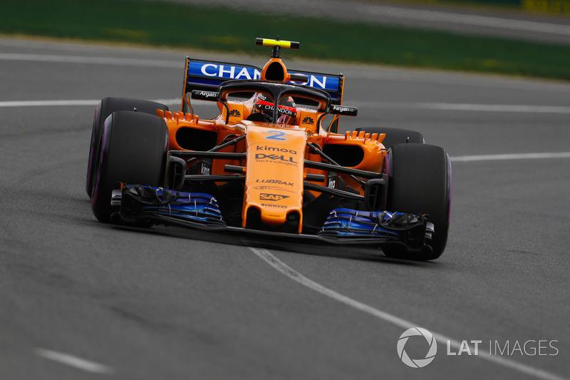 9. Stoffel Vandoorne, McLaren MCL33