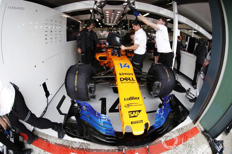 MCLAREN: Alonso 1 x 0 Vandoorne