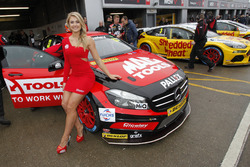 Adam Morgan, Ciceley Motorsport with Mac Tools Mercedes Benz A-Classt