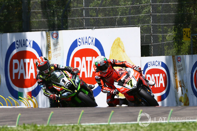 Jonathan Rea, Kawasaki Racing, Chaz Davies, Aruba.it Racing-Ducati SBK Team