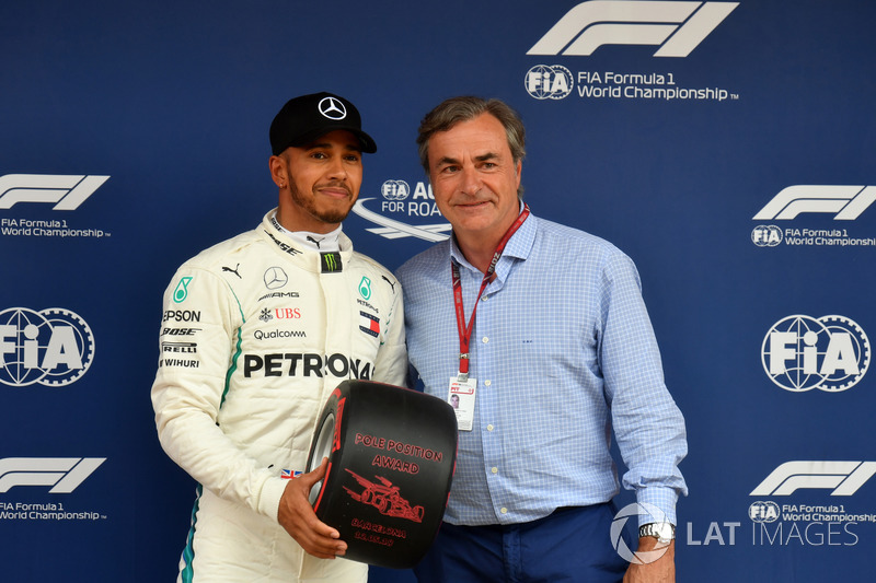 Képekben Hamilton 74. F1-es rajtelsősége