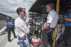 Graham Rahal, Rahal Letterman Lanigan Racing Honda, mit Ricardo Nault