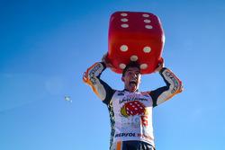 Il Campione del Mondo Marc Marquez, Repsol Honda Team festeggia
